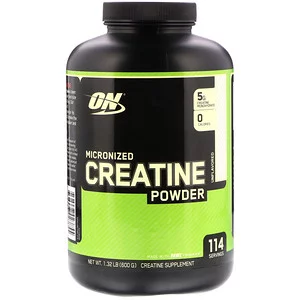 Optimum Nutrition Micronized Creatine Powder Unflavored 1 32 Lb 600 G Micronized Creatine Optimum Nutrition Optimum Nutrition Whey Protein