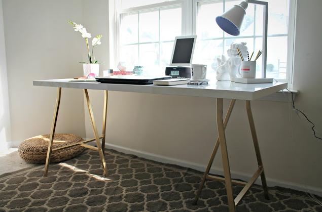 Ikea hack een elegant bureau voor minder dan euro for the