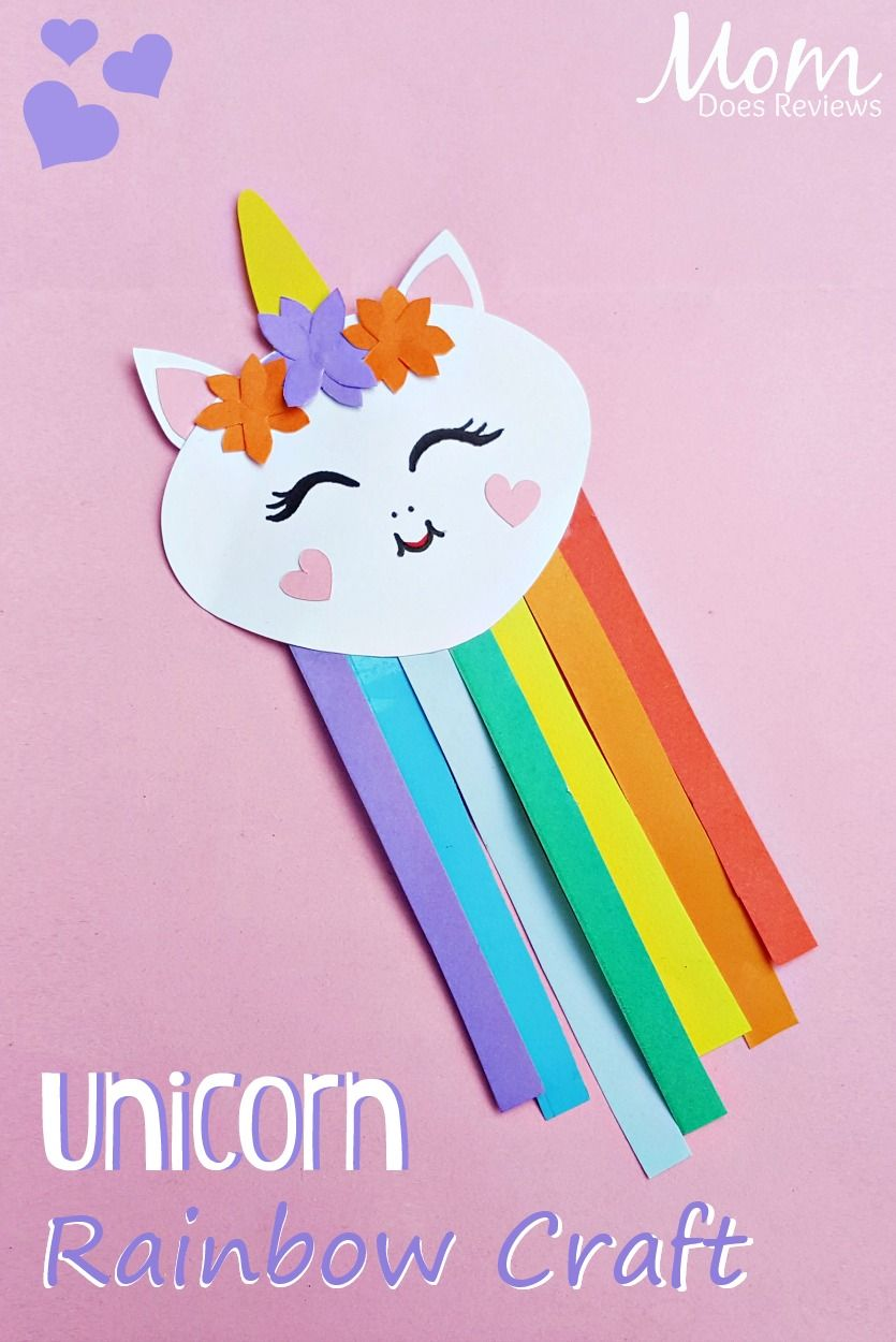 Unicorn Rainbow Craft Rainbow Crafts Unicorn Crafts Preschool Crafts