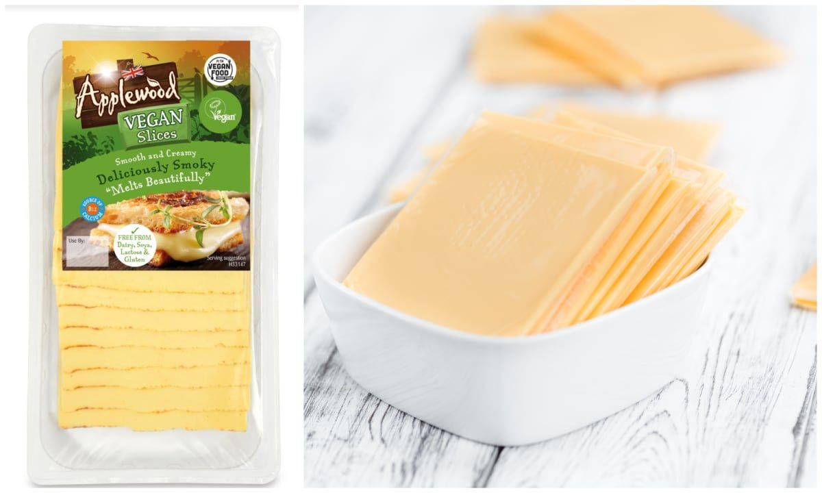 Dairy Giant Applewood Launches Vegan Cheese Slices Following Success Of Block In 2020 Vegan Cheese Applewood Company Meals