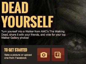 Become A Walker With The Walking Dead Dead Yourself App (Video) - http://crazymikesapps.com/walking-dead-dead-yourself/?Pinterest