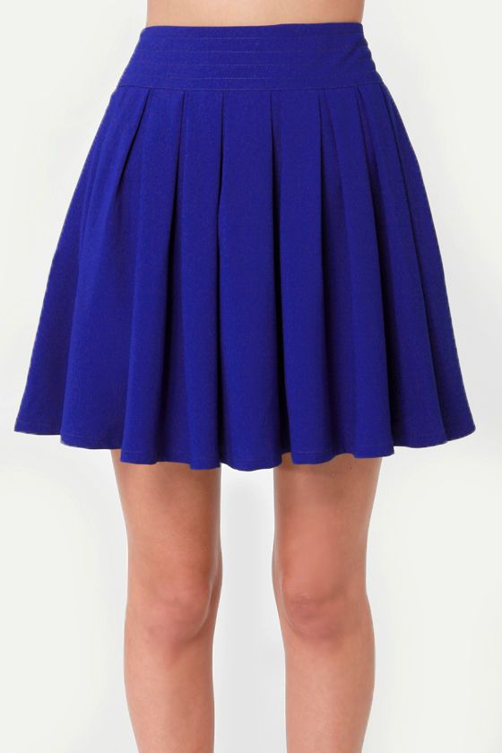 8fff449c5e On and On Royal Blue Skirt | Cosplay | Royal blue skirts, Skirts ...