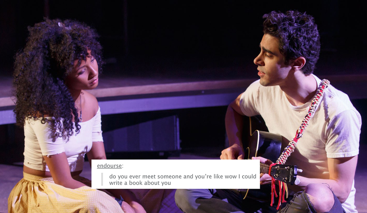 Diana Prince is the love of my life — Hadestown + the text post meme