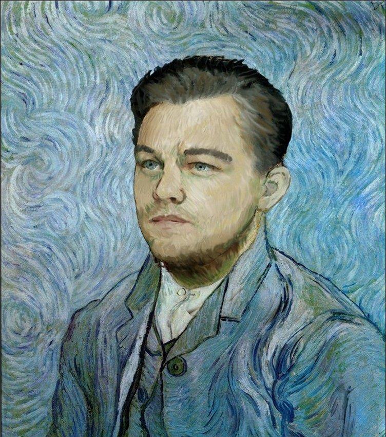 Modern Celebrities In Classic Paintings Art Parody Classic
