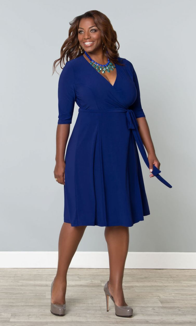 1000  images about Baju Plus Size on Pinterest | Wrap dresses ...