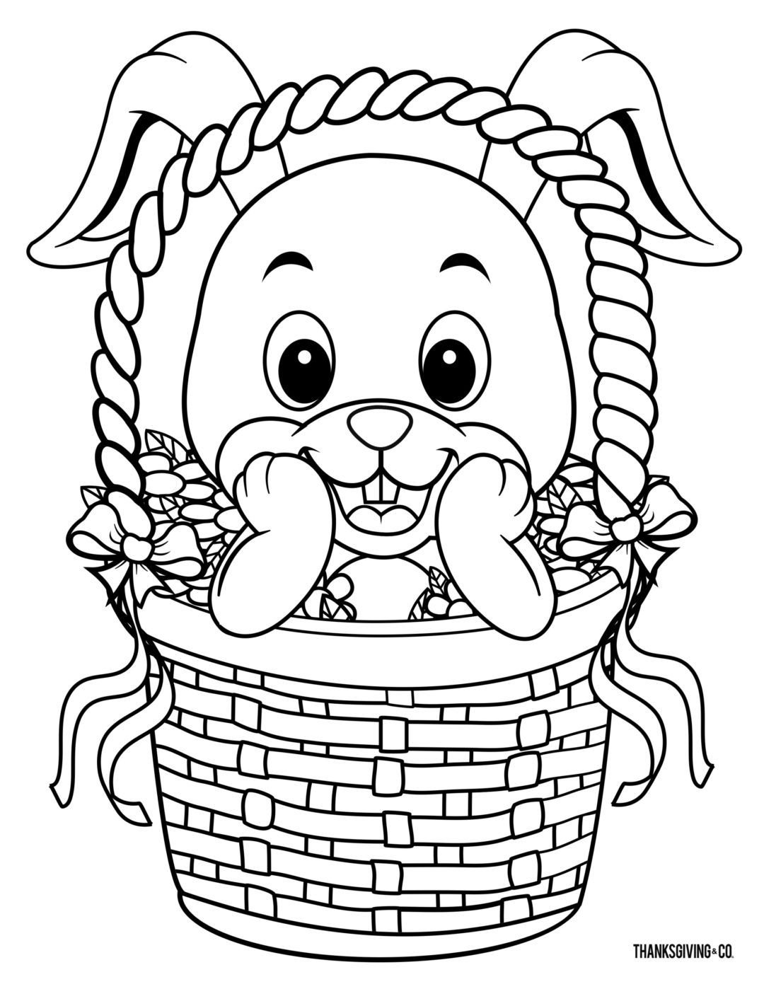 - 8 Free Printable Easter Coloring Pages Your Kids Will Love In 2020
