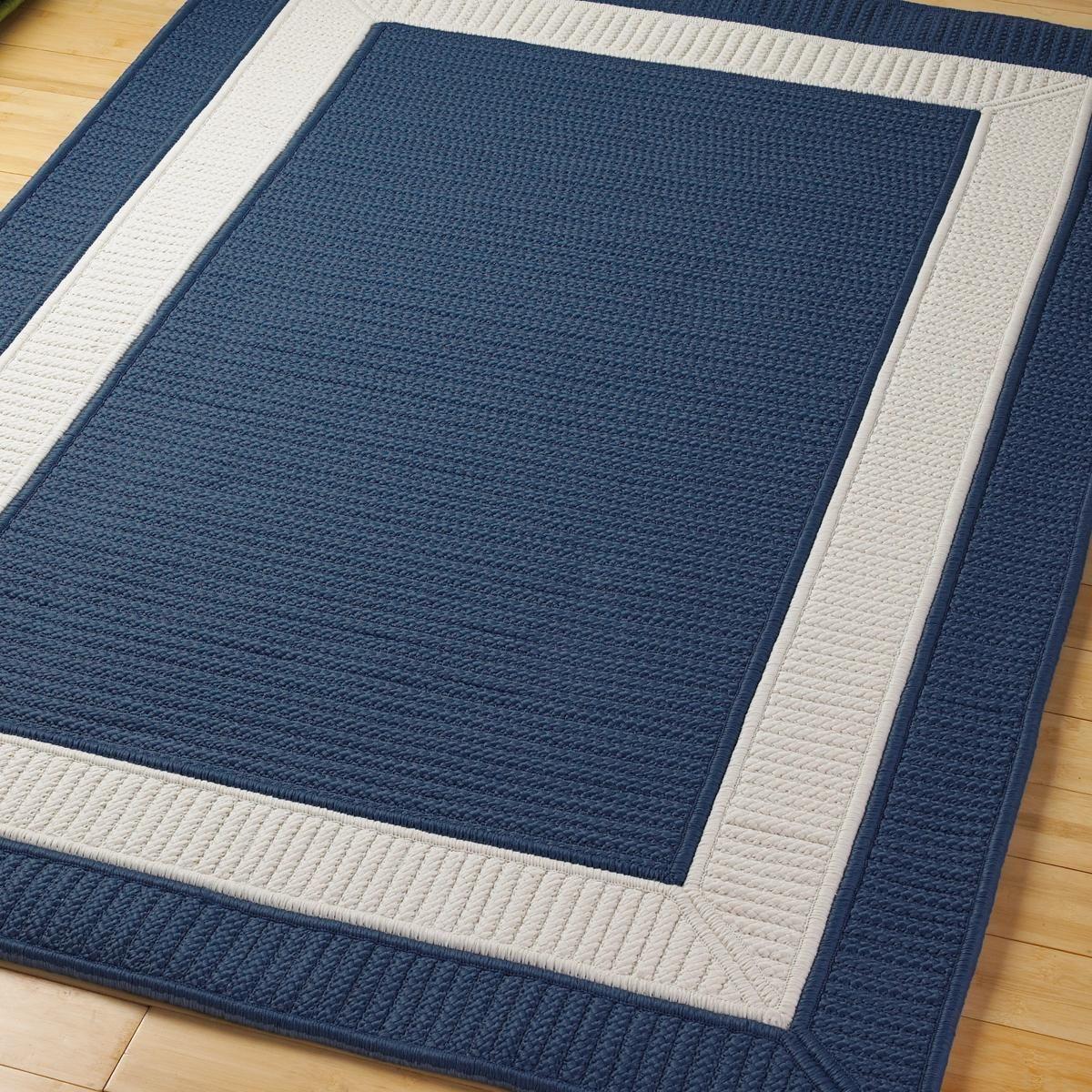 Border Braided Indoor/Outdoor Rug | Indoor outdoor rugs, Outdoor ...