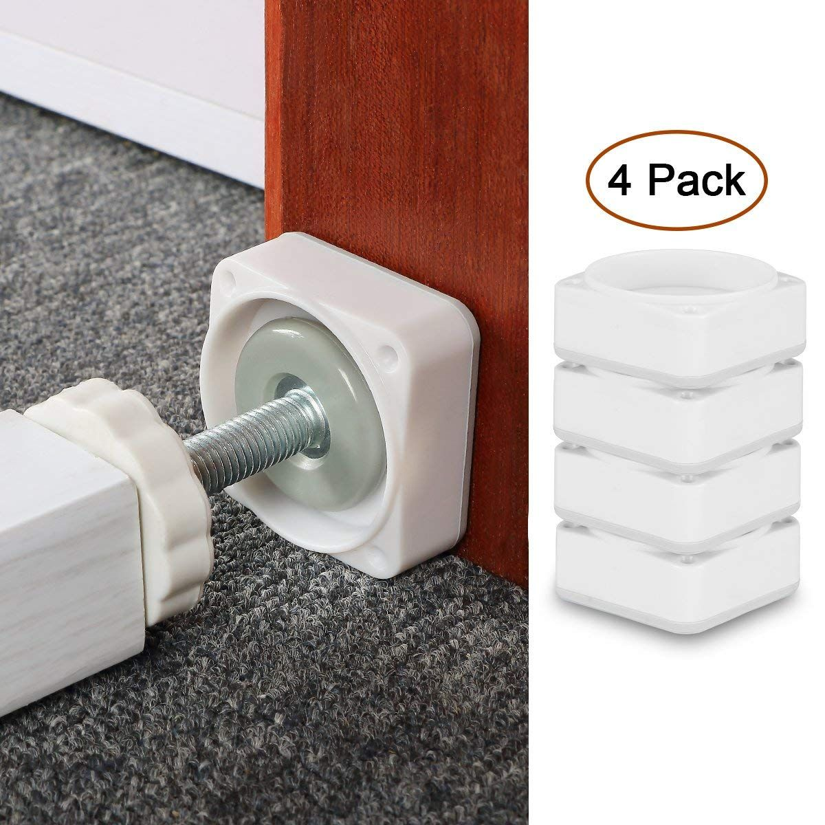 Baby Gate Wall Cups,4 Pack Dog Gate Wall Protection Guard Saver Prevent Damage
