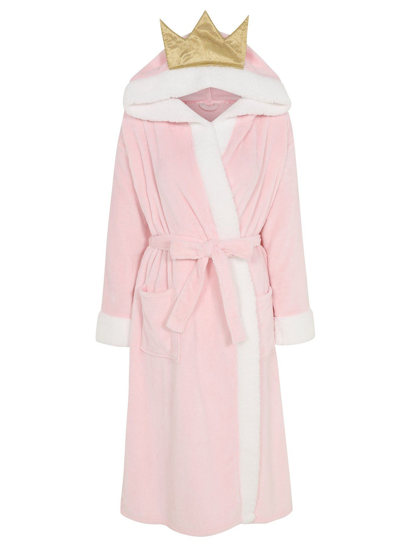 Girls /'Princess Squad/' Winter Fleece Dressing Gown