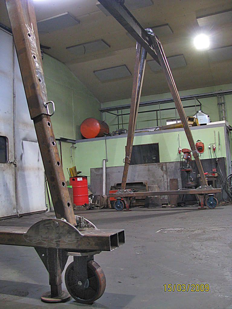 Gantry Crane Vs Engine Hoist Page 3 Bearings Amp Tracks