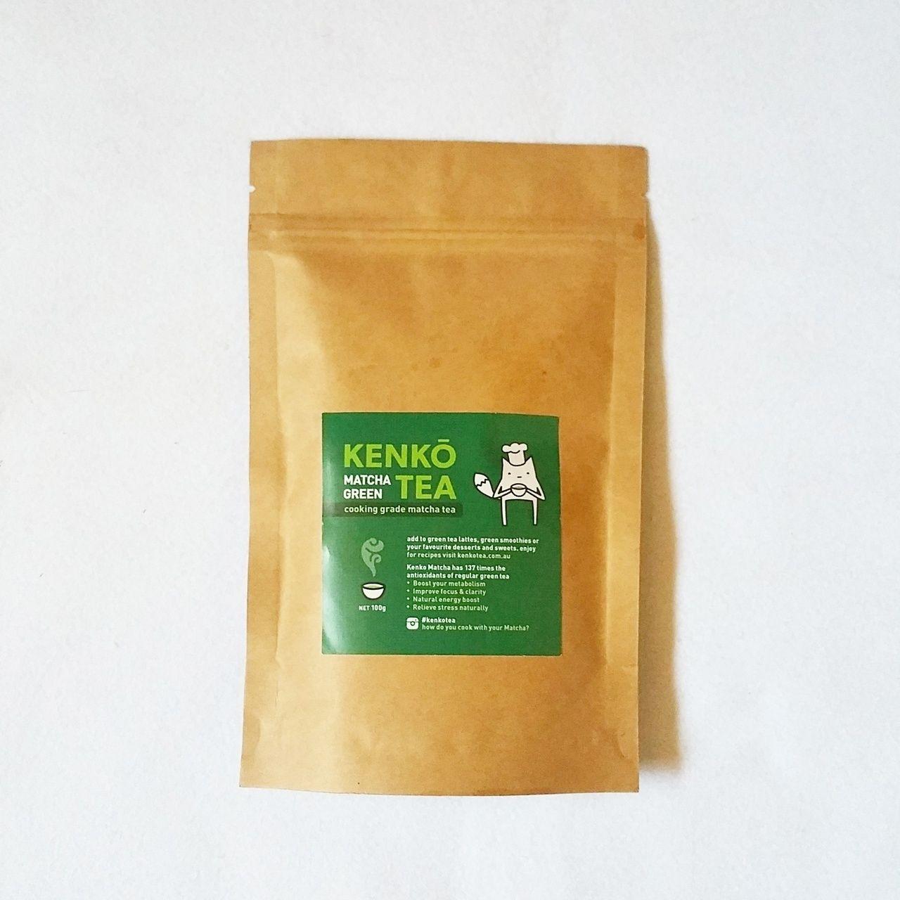 Kenko Cooking Grade Matcha 100g - My Natural Necessities