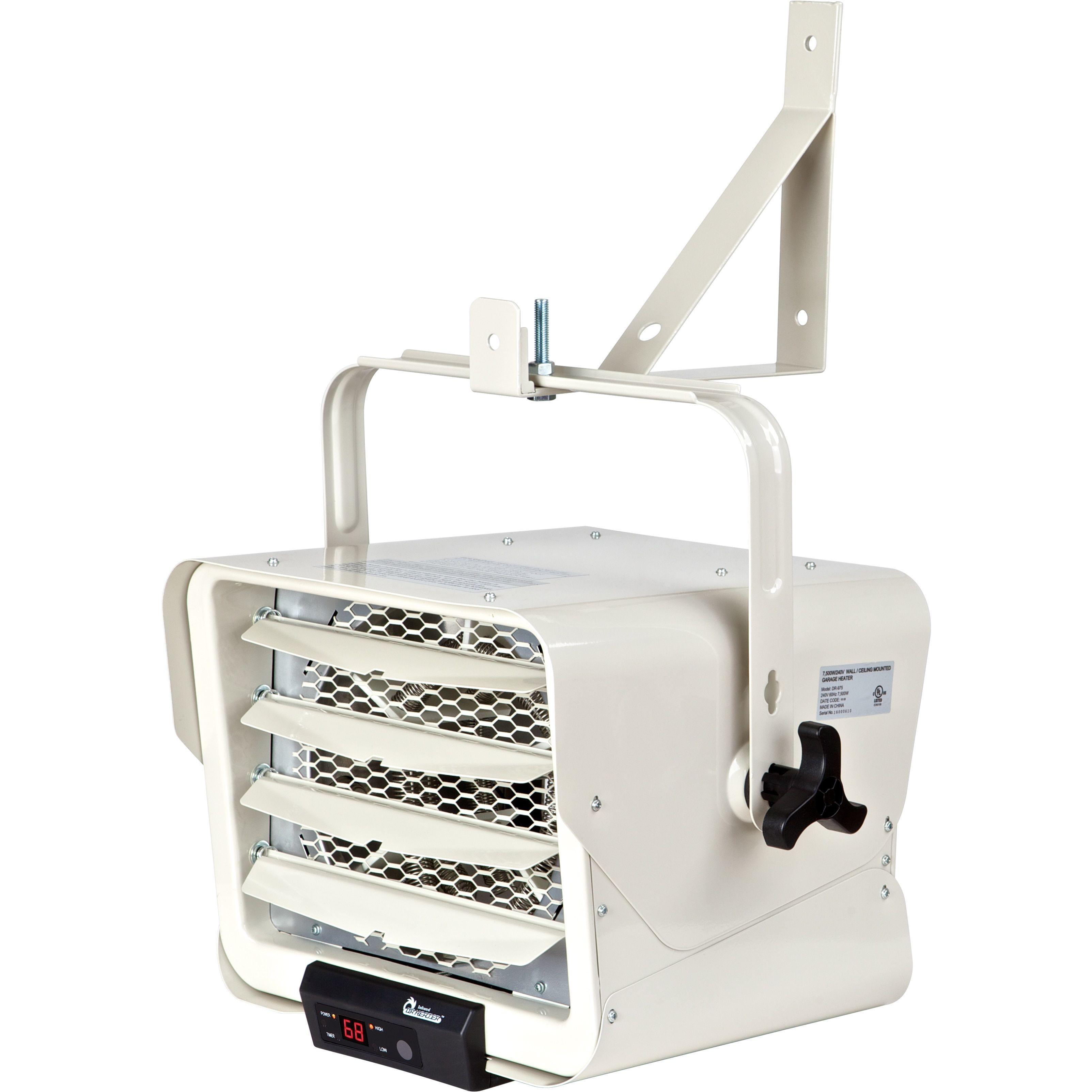 Dr Infrared Heater 7500 Watt 240 Volt Hardwired Shop Garage