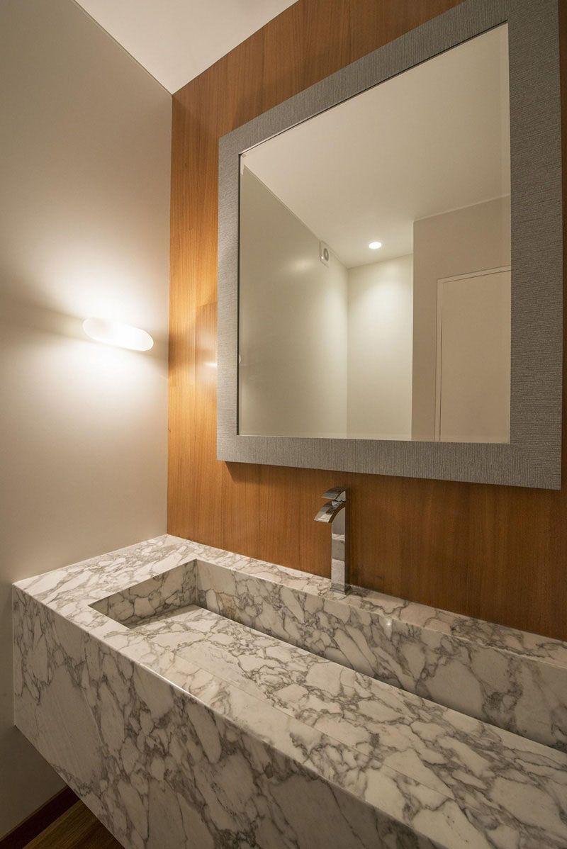 Bathroom Design Idea - Extra Large Sinks Or Trough Sinks | Powder ...
