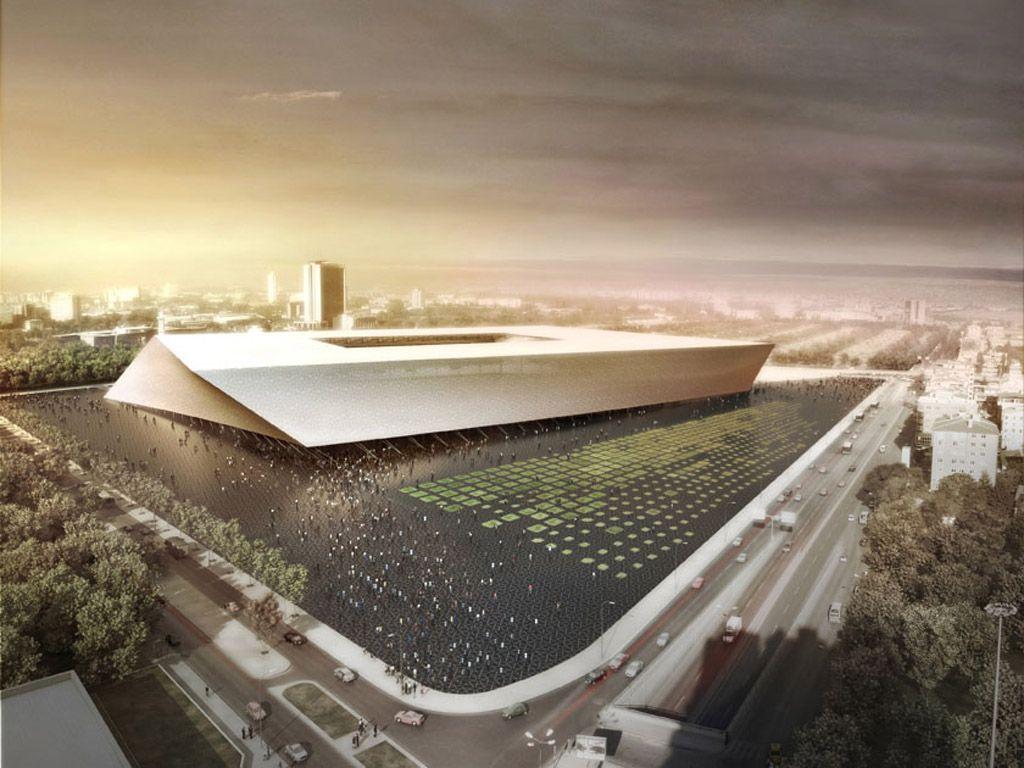 Never Built Stadiums Page 81 Stadium Architecture Stadium Design Architecture Design