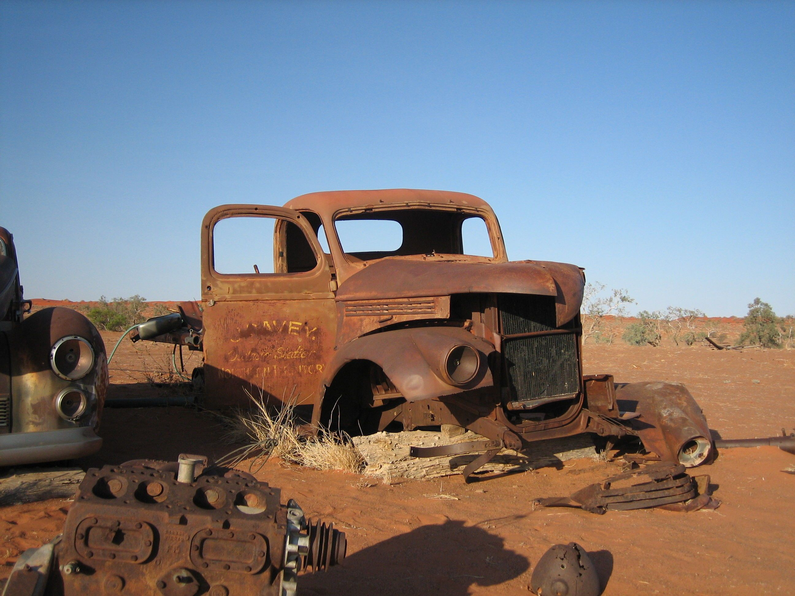 Old Truck At Old Anadado Northern Territory Seeaustralia