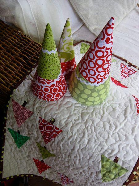 Christmas tree softie tutorial (old version) | Christmas ...