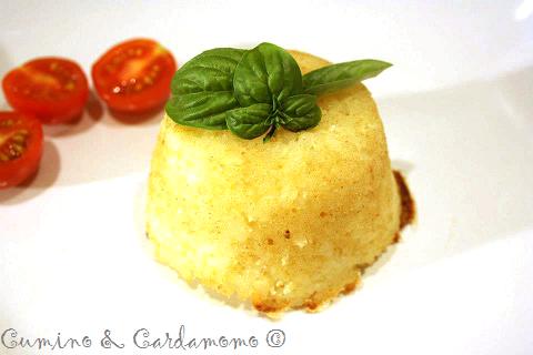 Cumino e Cardamomo: Timballetti di riso affumicati