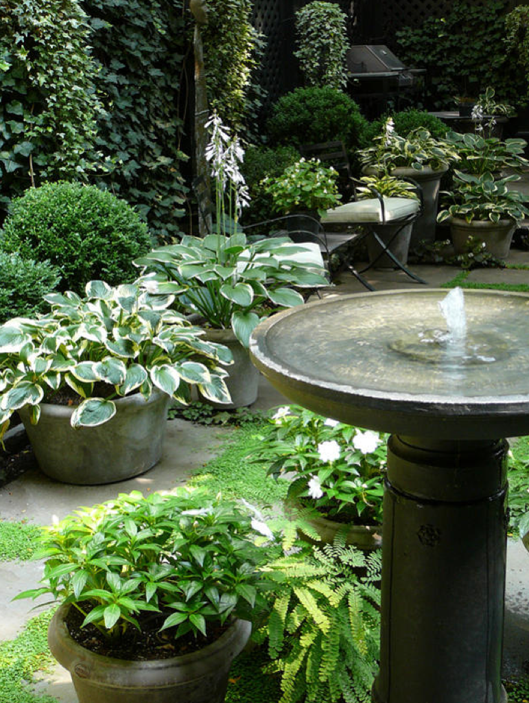 basic classic birdbath with pump fountain backyard habitat