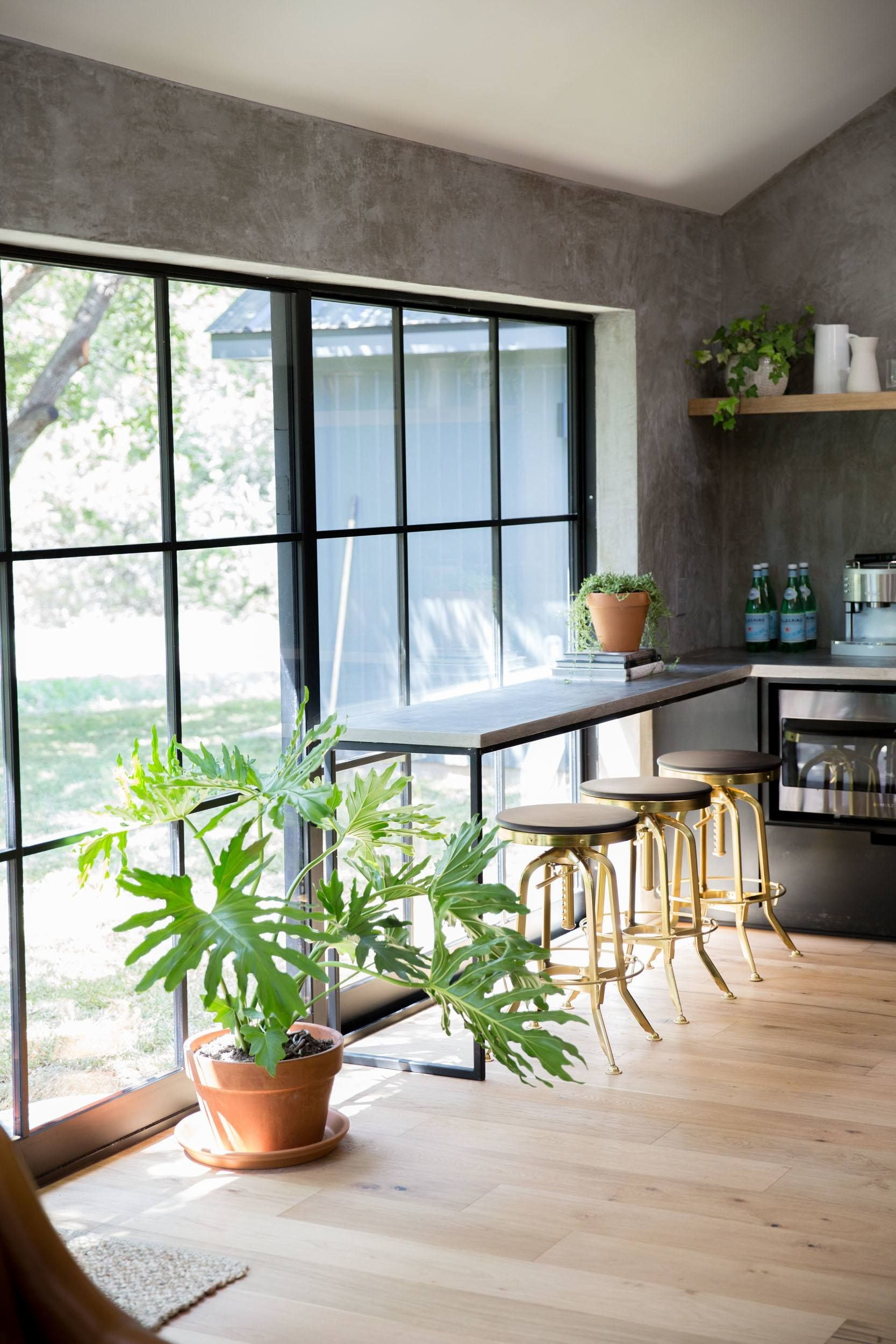 Episode 06 The Pick A Door House Magnolia Kitchen Window Bar Kitchen Bar Lights Bars For Home