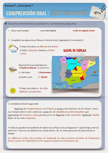 Clase De Español Spanish Teacher Resources Learning Spanish Teaching