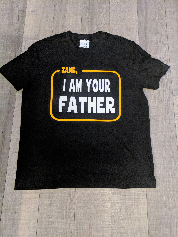 Birthday Star Wars I Am Your Father Luke Skywalker Starwars Shirt Funny Movie Shirts Theme Mother