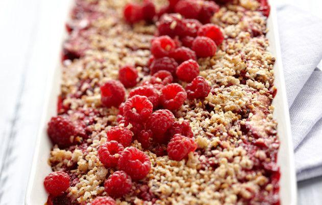 Raspberry pie, Finnish Goodies, July 2016