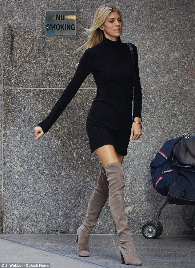 stella maxwell dresses as she gets ready for