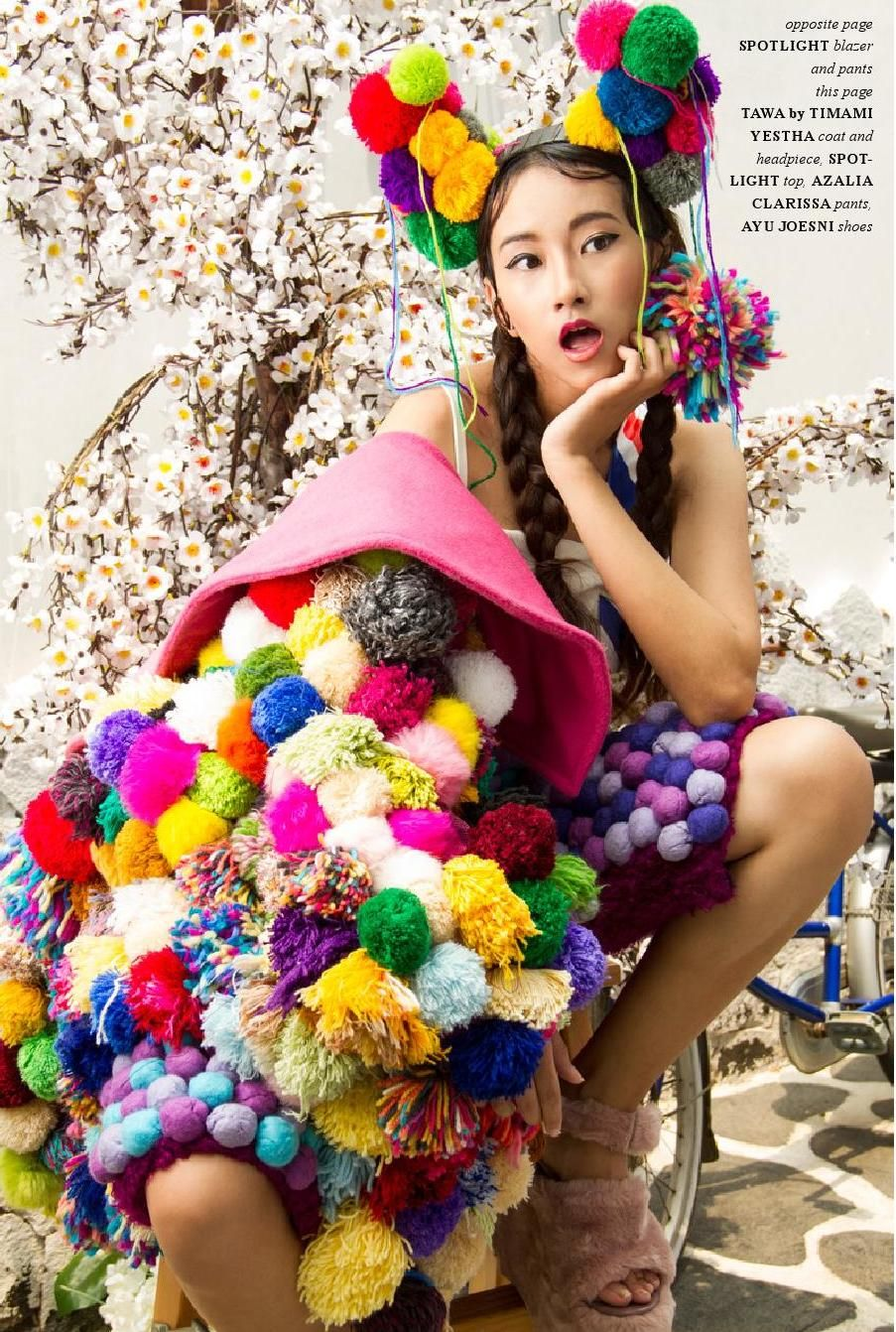 Jute Magazine Winter 2016 (With images) Pom pom fashion