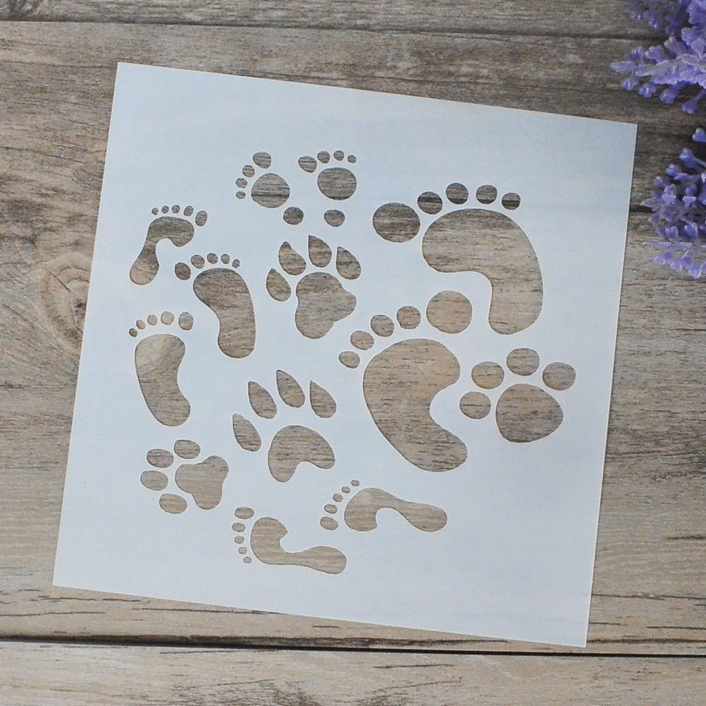 Diy craft layering stencils for walls painting scrapbooking stamping