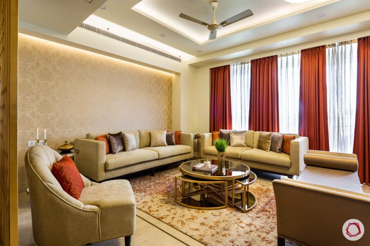 Inside A Spacious 3bhk With Lush Interiors Beautiful Houses