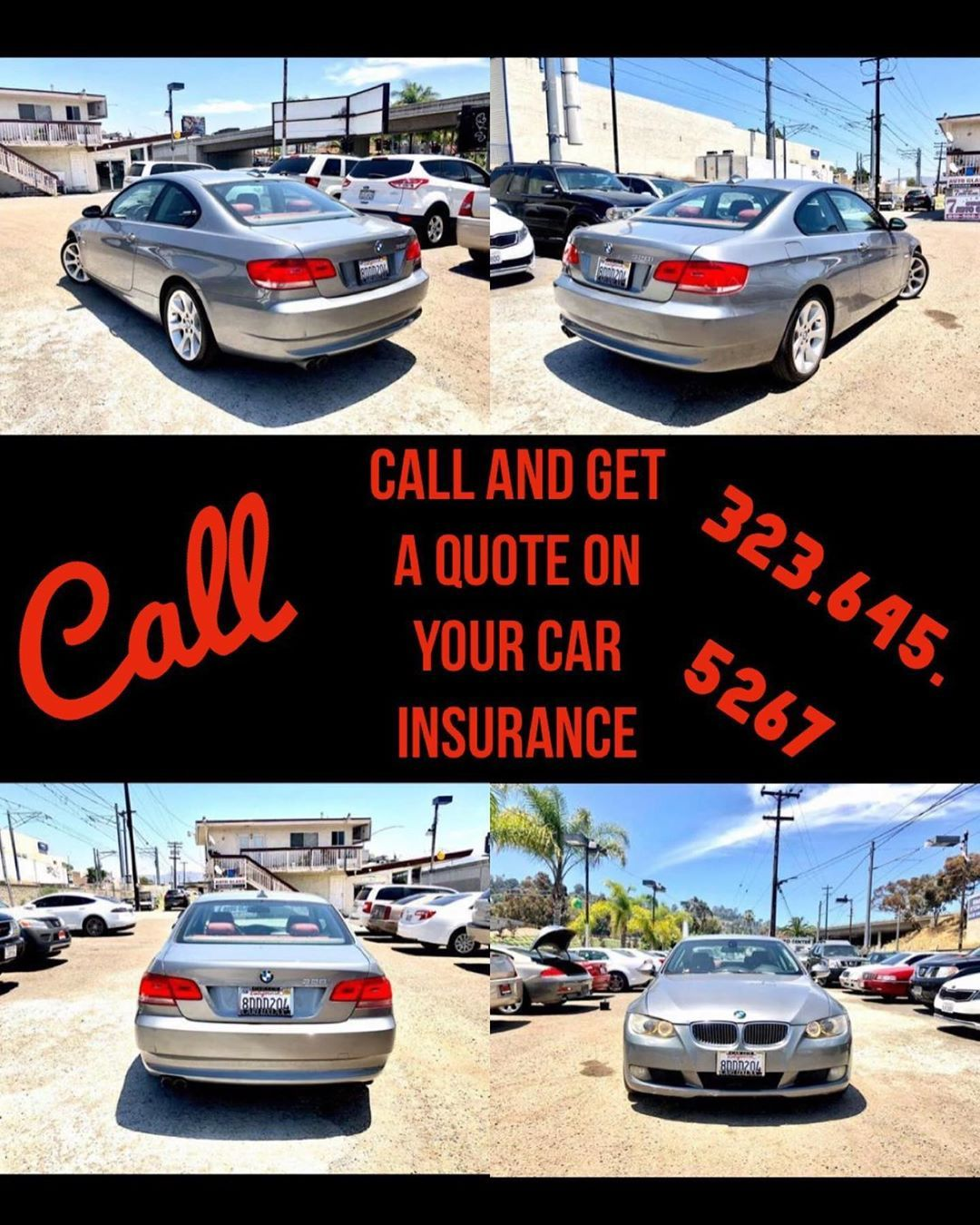 Call And Get A Quote On Your Car Insurance