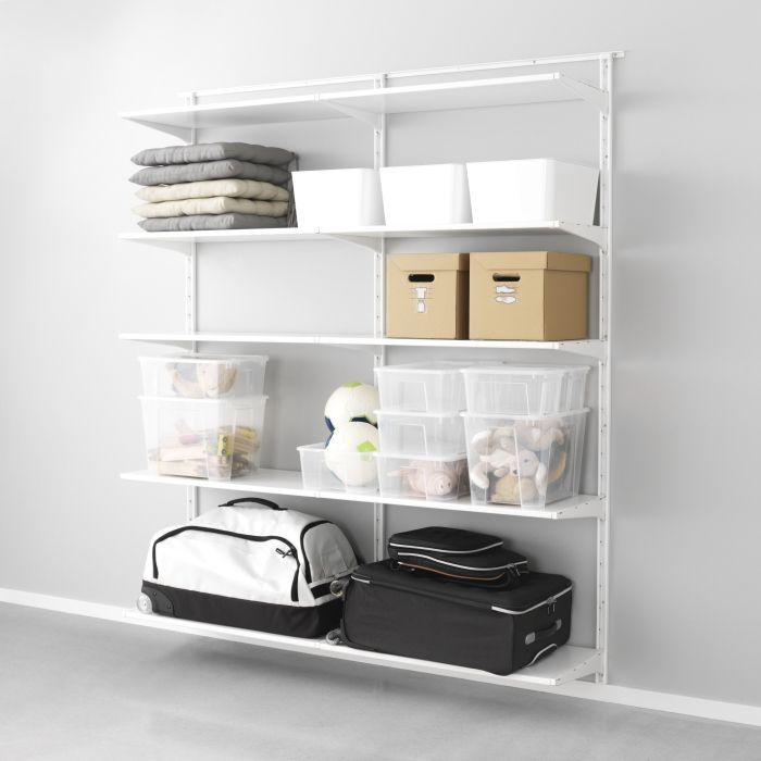 Algot Systeem Ikea Dagrommel Kast Wandrek Zolder