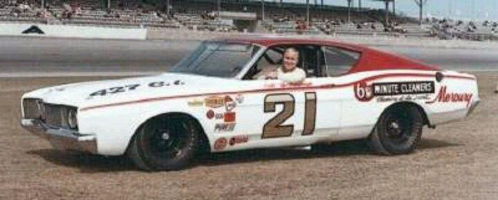 Cale Yarborough won the Daytona 500 in this Wood Brothers 1968 Mercury Cyclone.