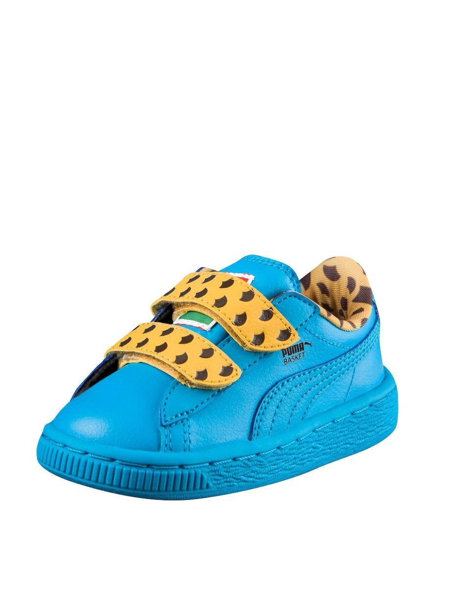 dd2f0c72 Puma Sneakers Sesame Street Basket Cookie Monster Mono V PS Low Top ...