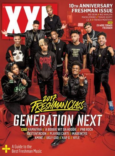 XXL Magazine Releases Freshman of the Year 2017   XXL Magazine releases their annual freshman of the year cover, this year is their 10th anniversary. Check the artist whom many have no idea who these people are below: This year's Freshman Class includes the Bay Area's Kamaiyah, The Bronx's A Boogie Wit Da Hoodie, Philadelphia's PnB Rock, Tokyo... #20ThCenturyFox, #AdamWest, #AmericanBroadcastingCompany, #AmericanSystemBuiltHomes, #AveryArchitecturalAndFineArtsLibr