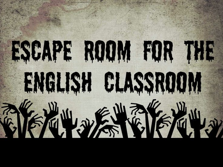 Classroom Escape Room (Review Game) | English classroom, English and ...