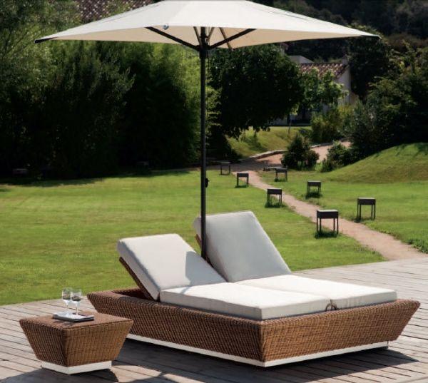 Moderne Rattan Gartenmöbel von Point \u2013 Outdoor Möbelkollektion 2018 - designer heizkorper minimalistischem look