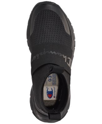 bae1ec087aee16 Champion Boys  Rally Pro Casual Athletic Sneakers from Finish Line - Black  5.5