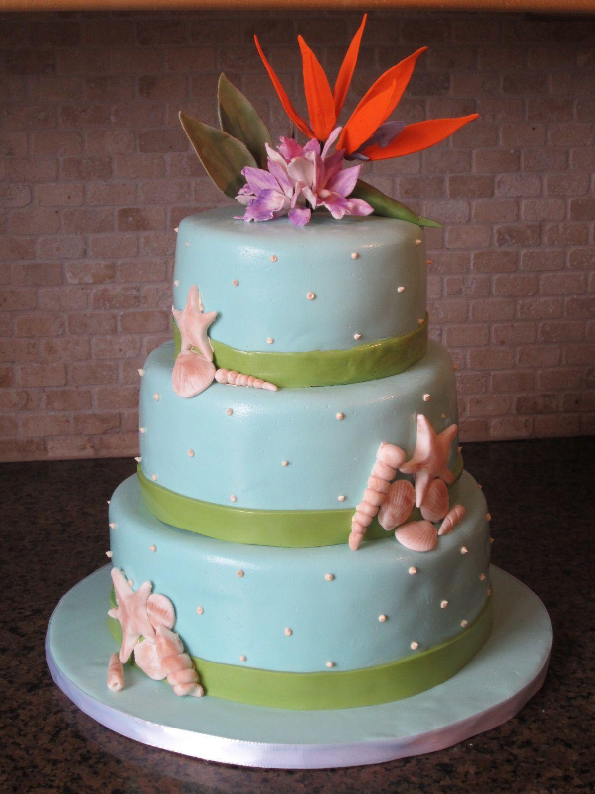 Beach Cakes on Pinterest