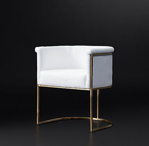 Wexler Barrelback Fabric Chair Collection | RH Modern. This chair makes ne sad. Some chairs in the dining collection are under $400; this one is $900. & Wexler Barrelback Fabric Chair Collection | RH Modern. This chair ...