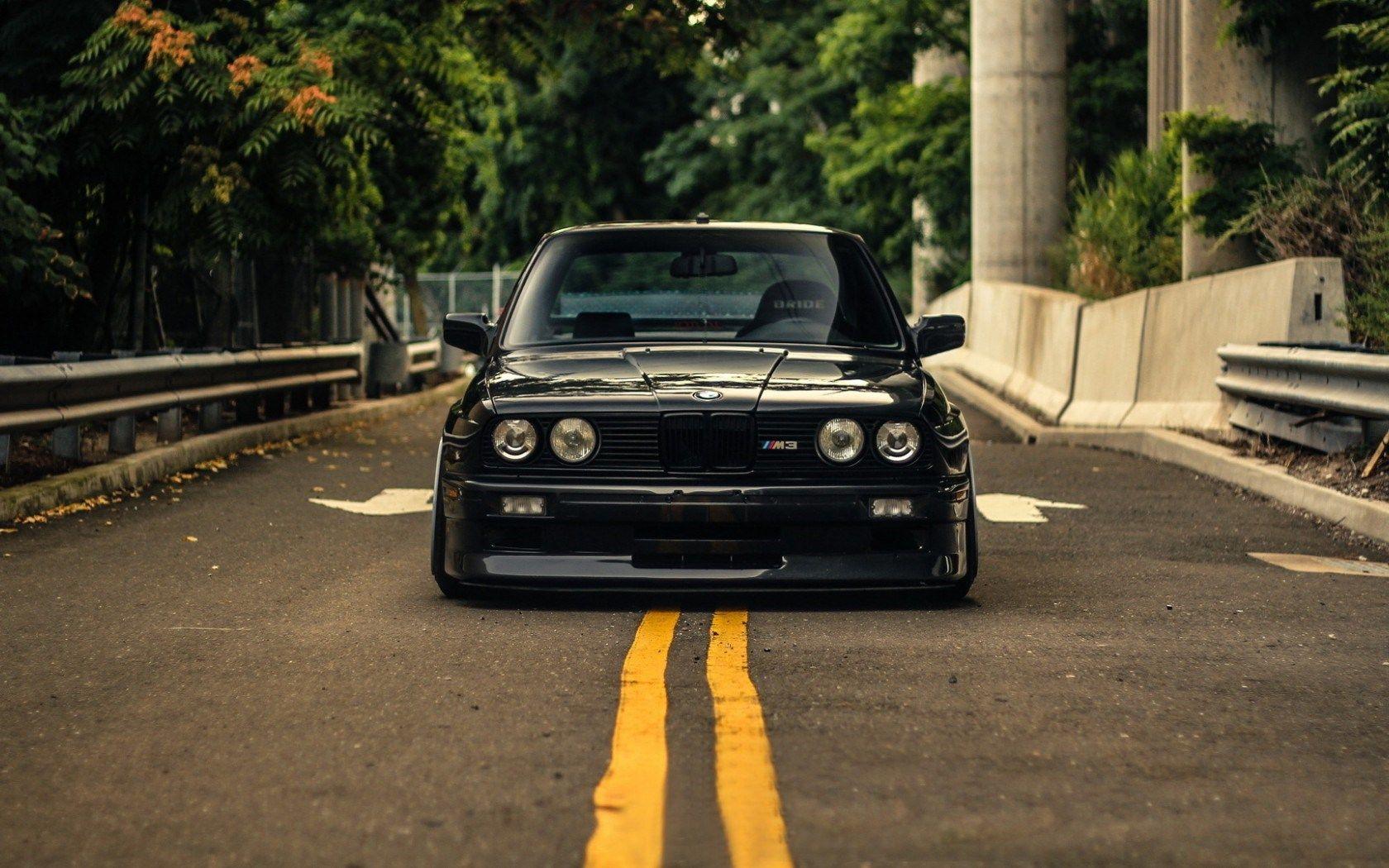 Black E30 Bmw E30 Bmw Bmw E30 Stance