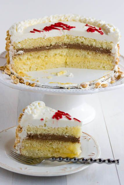 Italian Rum Cake Recipe Ilized Whipped Cream And Layers