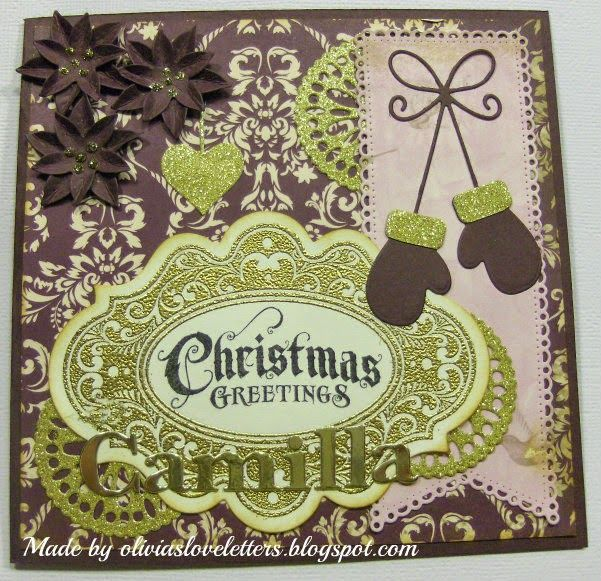 Olivias Loveletters: Årets sidste julekort