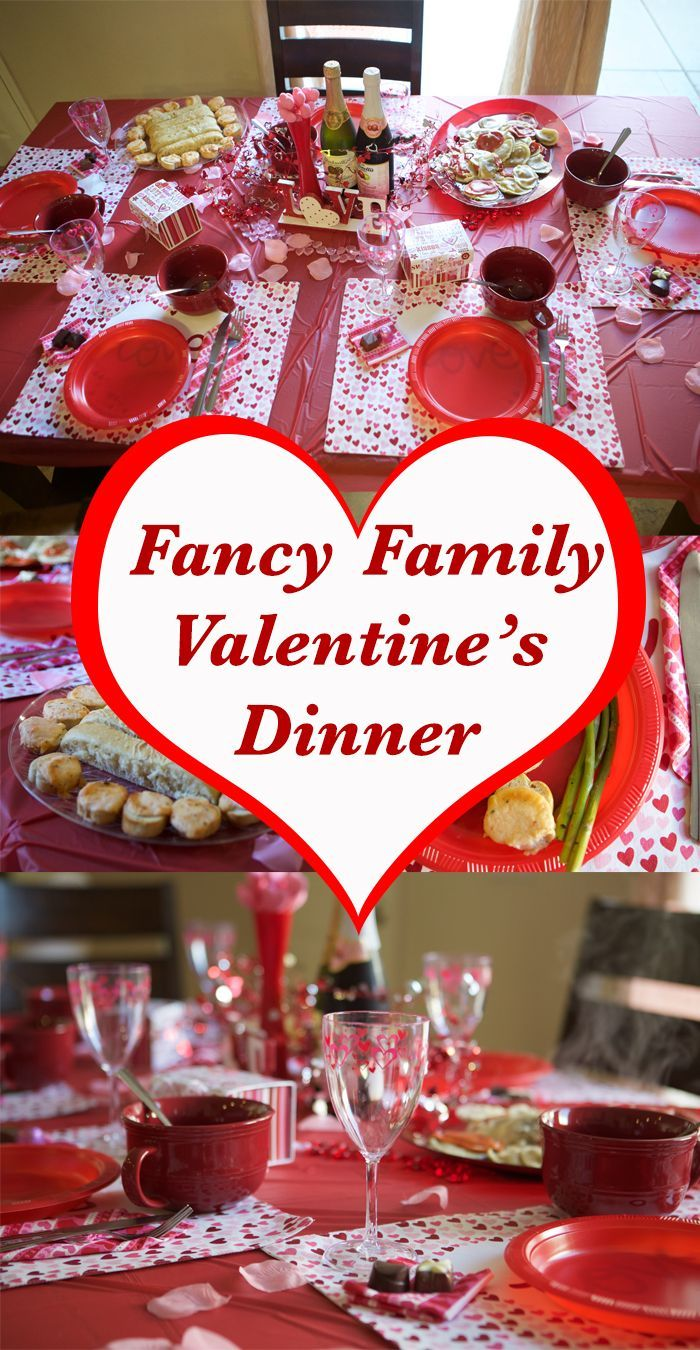 Family Friendly Fancy Valentine Dinner