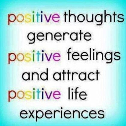 Today, We Got Another Picture Of Be Positive, In This Spiritual Quotes  Category, Great Pictures