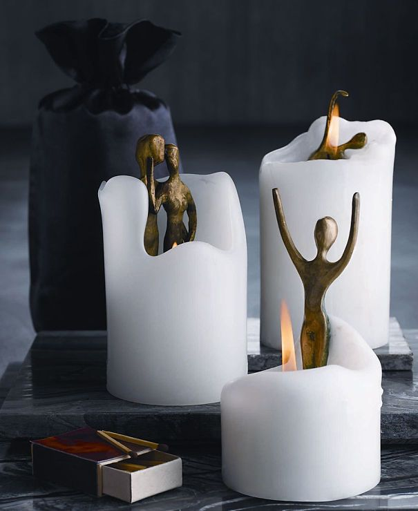 30+ Of The Most Creative Candle Designs Ever | Designer candles, Best candles, Homemade candles