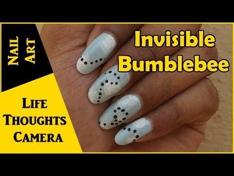 Nail Art Invisible Bumblebee