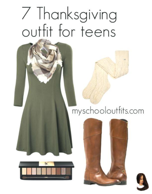 7 gemütliche Thanksgiving-Outfits für Teenager - Seite 5 von 7 #churchoutfitfall