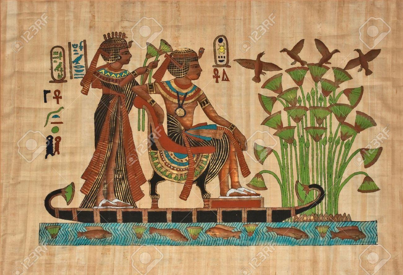Egyptian Wall Paintings Pharaohs   Google Search