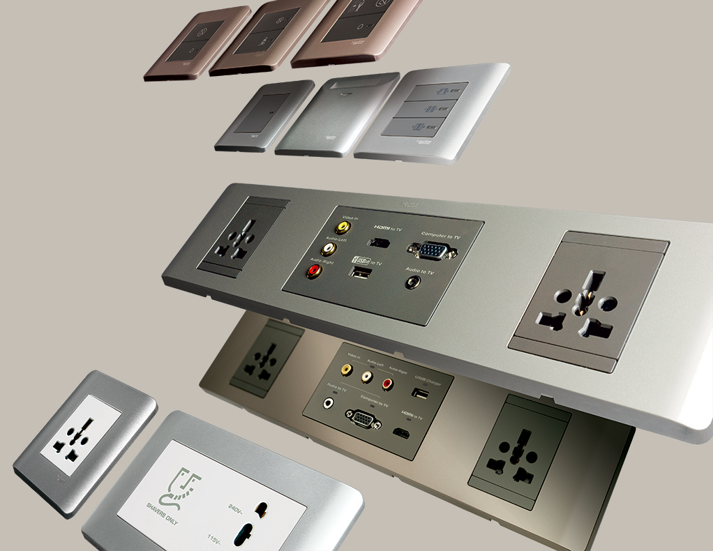 Zencelo The Revolutionary Full Flat Switch For Instanding People Schneider Electric This Light Switches And Sockets Electrical Switches Electrical Socket